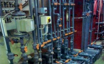 Piping di processo linea acidi